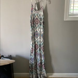 Lovestitch spaghetti strap maxi sundress dress L